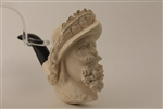 Special Hand Carved Cavalier Meerschaum Pipe