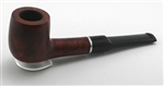 Billiard Straight Prestigio Stromboli Ring Briar Pipe