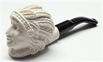 Mini Deluxe Hand Carved Indian Meerschaum Pipes
