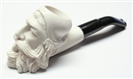 Mini Deluxe Hand Carved Dunhill Meerschaum Pipes