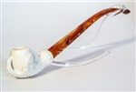 Standard Claw Churchwarden Meerschaum Pipes