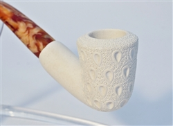 Standard Dublin Lattice Meerschaum Pipes