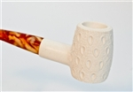 Standard Poker Lattice Meerschaum Pipes