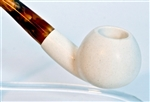 Standard Apple Smooth Bent Meerschaum Pipes