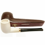 Deluxe Hand Carved Cottom's Choice Limited Edition #3 Meerschaum Pipe