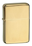 Vector KGM Thunderbird Pipe Lighter - Hi-Polish Brass