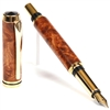 Baron Fountain Pen - Amboyna Burl