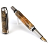 Baron Fountain Pen - Buckeye Burl
