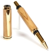 Baron Rollerball Pen - Olivewood