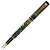 Classic Fountain Pen - Green Maple Burl