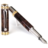 Majestic Fountain Pen - Purple Maple Burl