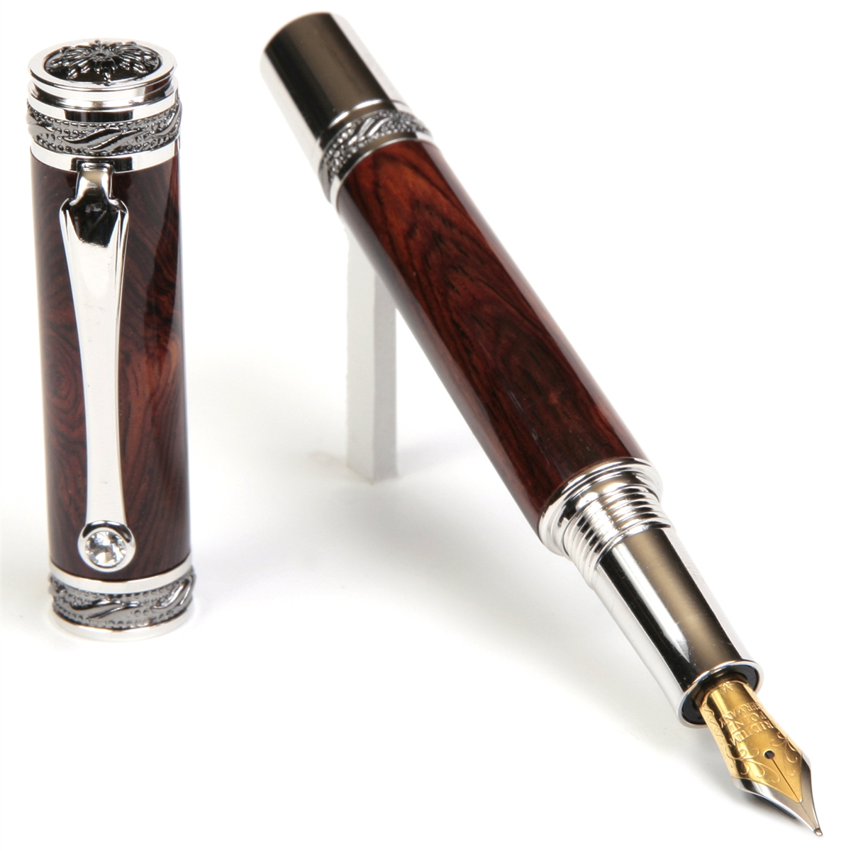 Majestic Fountain Pen - Cocobolo