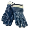 1 dozen (12 pairs) Safety Blue Nitrile Coated Gloves waterproof