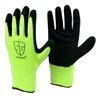 1 dozen (12 pairs) High visible Green LATEX PALM COATED Nylon flexible glove