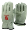 1 dozen (12 pairs) Cowhide Full Grade A leather work glove with insulation