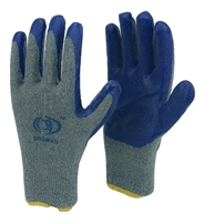 40 pairs Birdman Blue LATEX PALM COATED STRING KNIT WORK GLOVE