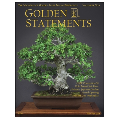 Golden Statements Winter 2016 - Single Issue - FREE DIGITAL DOWNLOAD