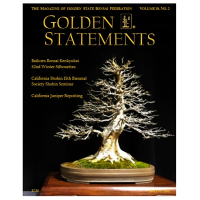 Golden Statements Spring 2016 - Single Issue - FREE DIGITAL DOWNLOAD