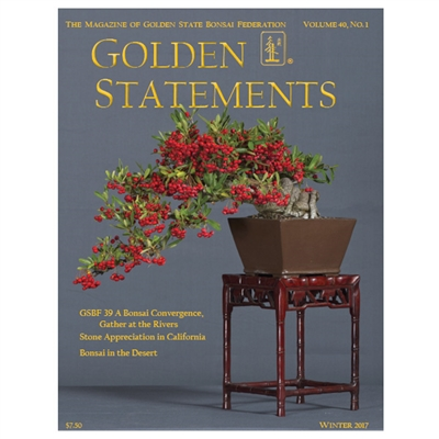 Golden Statements Winter 2017 - Single Issue