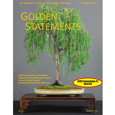 Golden Statements Winter Issue 2019 - FREE DIGITAL DOWNLOAD