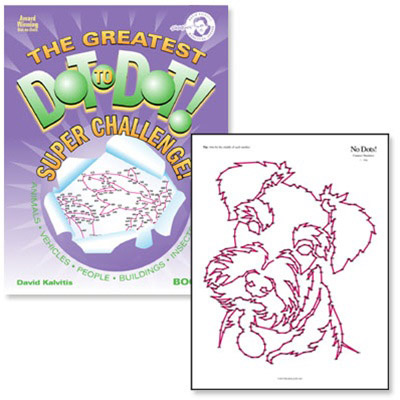 The Greatest Dot-to-Dot Super Challenge - Book 8