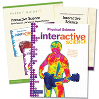 Interactive Science - Physical Science Homeschool Bundle Grades 6-8