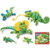 Bloco Lizards and Chameleons Set