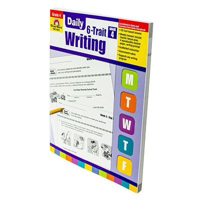 Daily 6-Trait Writing Grade 4