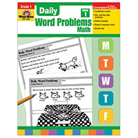 Daily Word Problems Grade 1 Math