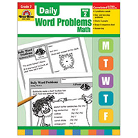 Daily Word Problems Grade 2 Math
