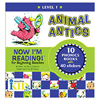 Now I'm Reading!: Level 1 Animal Antics
