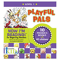 Now I'm Reading!: Level 1 Playful Pals