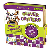 Now I'm Reading!: Level 1 Clever Critters