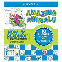 Now I'm Reading!: Level 2 Amazing Animals