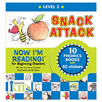 Now I'm Reading!:Level 2 Snack Attack