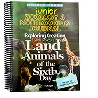 JUNIOR Zoology 3 Notebooking Journal for younger students