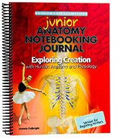 JUNIOR Anatomy Notebooking Journal for younger students