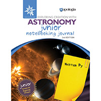 JUNIOR Astronomy  Notebooking Journal for younger students