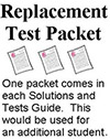 Replacement Test Pack Physical Science