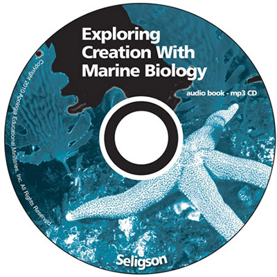 Exploring Creation with Marine Biology - MP3 Audio CD