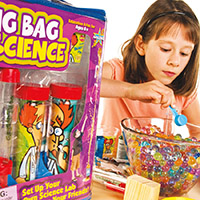Big Bag of Science with Messy Science