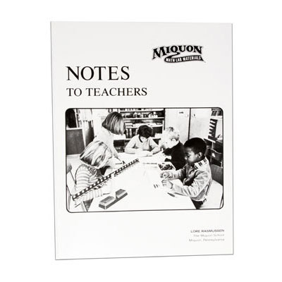 Miquon Notes To Teachers