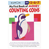 Kumon My First Book of Money Counting Coins