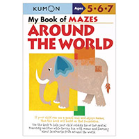 Kumon My Book Of Mazes Around the World