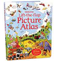 Usborne Lift the Flap Picture Atlas