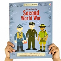 The Usborne Sticker Dressing Second World War