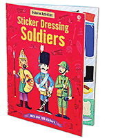 The Usborne Sticker Dressing Soldiers