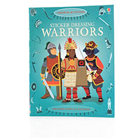 The Usborne Sticker Dressing Warriors
