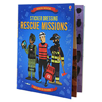The Usborne Sticker Dressing Rescue Missions