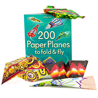 Usborne 200 Paper Planes to Fold and Fly